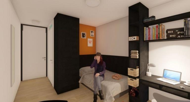 Room impression Student Residence