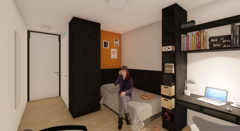 Kamerimpressie Student Residence